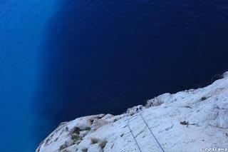 Séjour escalade Calanques, escalade Marseille, grande-voie, week-end calanques
