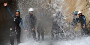 canyoning hautes-alpes, canyoning Guillestre, canyoning Embrun
