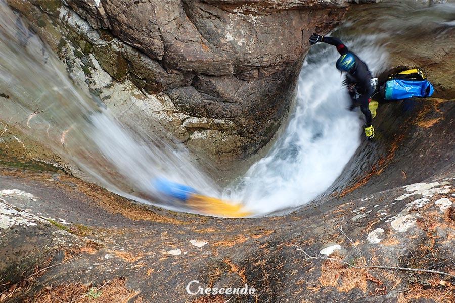 canyon ludique, canyon Oules, canyon expert