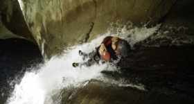 canyoning sportif, canyon journée