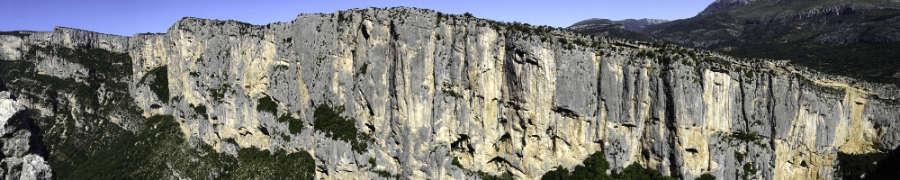 falaises de l'Escalès, séjour escalade Verdon