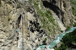 ViaFerrata Guillestre, via ferrata sportive 05